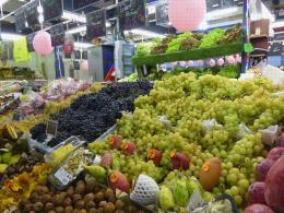 Etal de marché - Hauts de Seine - Fruits