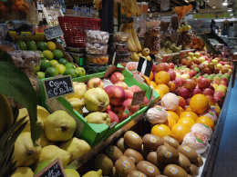 Rayon fruits