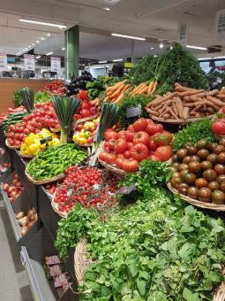 Rayon légumes et plantes aromatiques