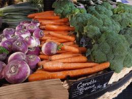 Rayon légumes : carotte, navet, brocoli