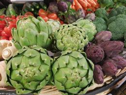 Au rayon légumes, les artichauts !
