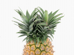 Ananas Sweet avec double couronne
