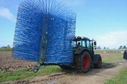 Eclairvale® à tige bleue : pour une récolte mécanique des fruits